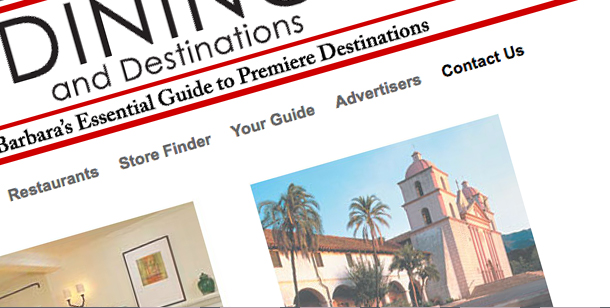 Dining and Destinations Website