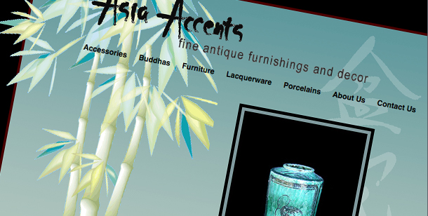 Asia Accents Website